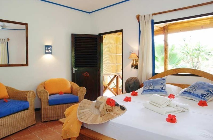 Le Laurier Guesthouse, Praslin, Seychelles, chambre deluxe