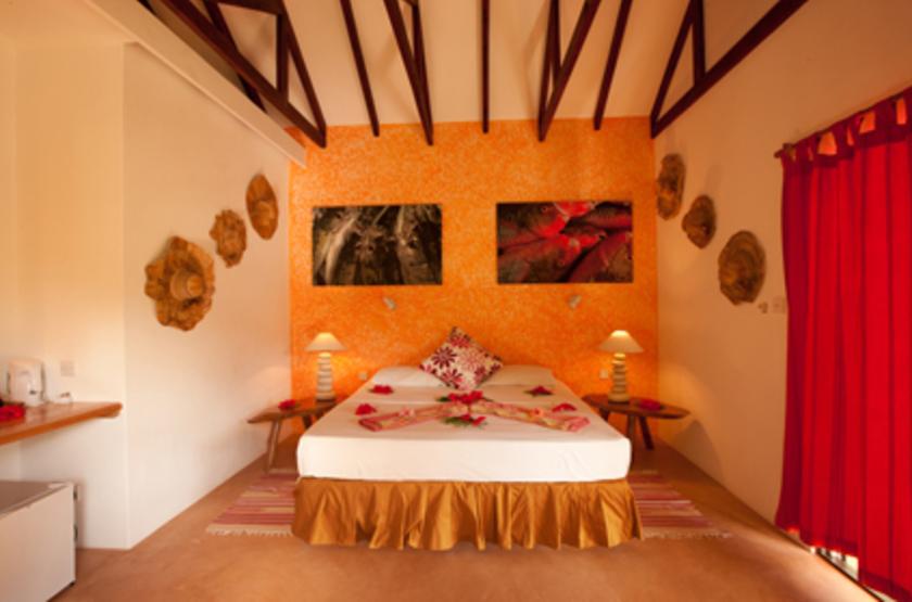 Le Laurier Guesthouse, Praslin, Seychelles, chambre