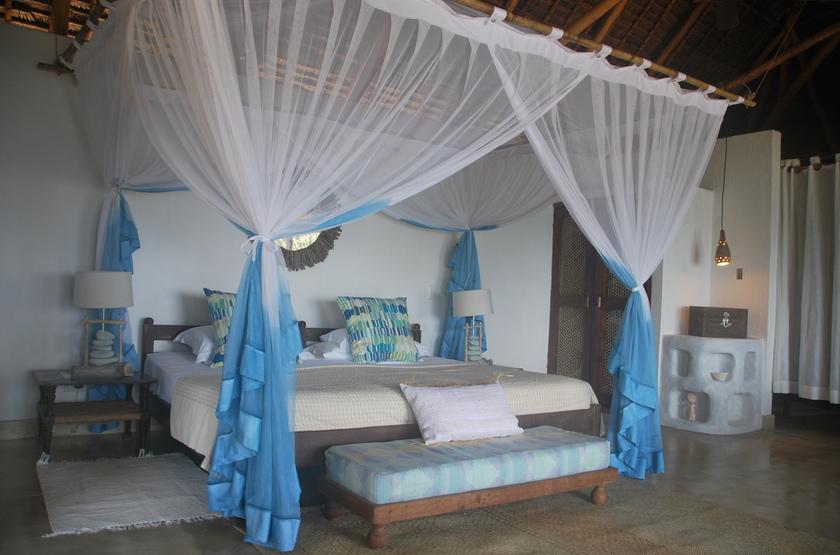 Azura, Quilalea île privée aux Quirimbas, chambre