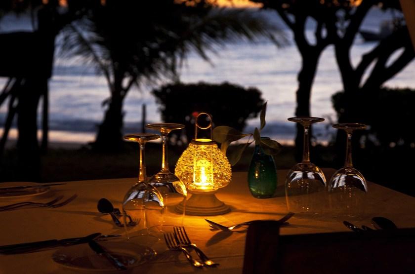 Azura, Quilalea île privée aux Quirimbas, dîner romantique