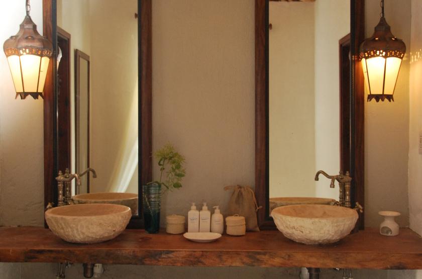Azura, Quilalea île privée aux Quirimbas, salle de bains