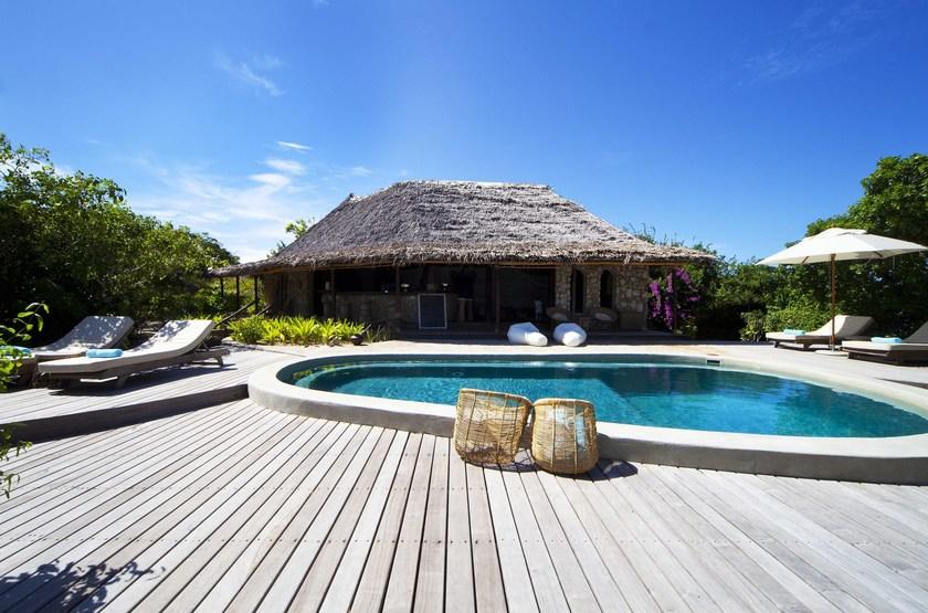 Azura, Quilalea île privée aux Quirimbas, piscine
