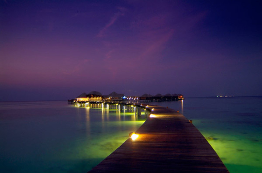 Coco Bodu Hithi, Maldives, jetty