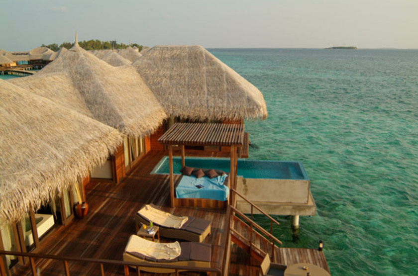 Coco Bodu Hithi, Maldives, water villa