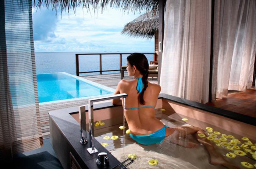 Coco Bodu Hithi, Maldives, villa avec piscine