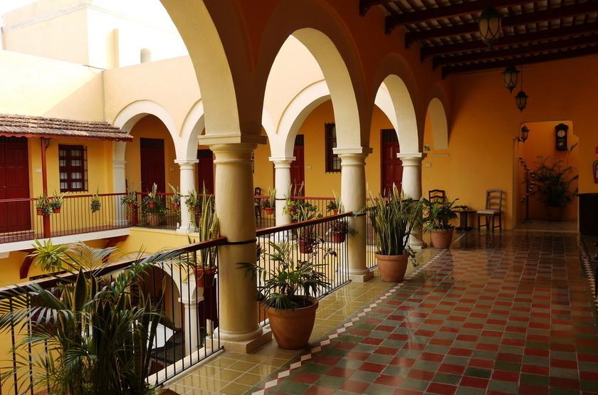 Hotel Castelmar, Campeche, Mexique, intérieur