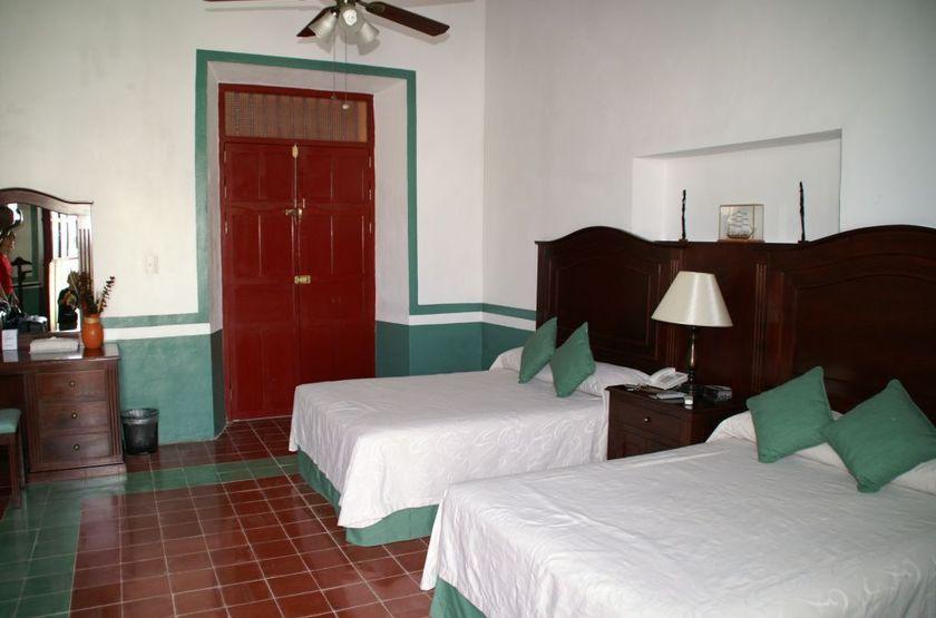 Hotel Castelmar, Campeche, Mexique, chambre