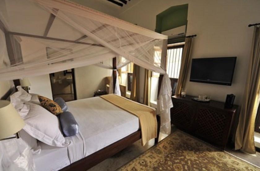 Kisiwa House, Stone Town, Zanzibar, chambre deluxe