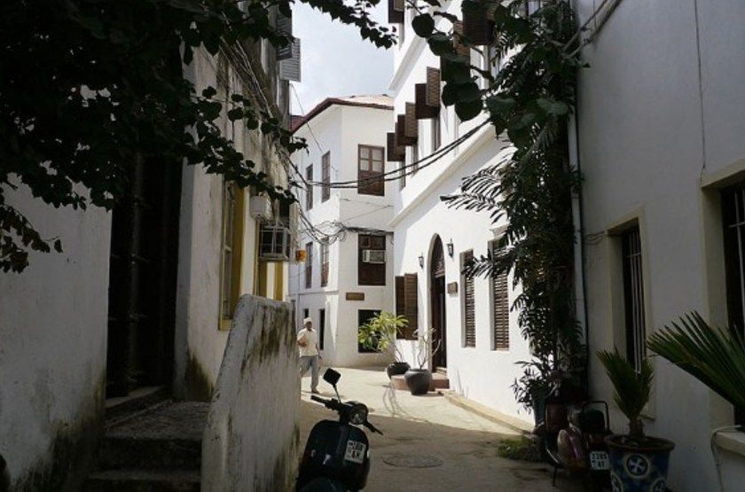 Kisiwa House, Stone Town, Zanzibar, extérieur