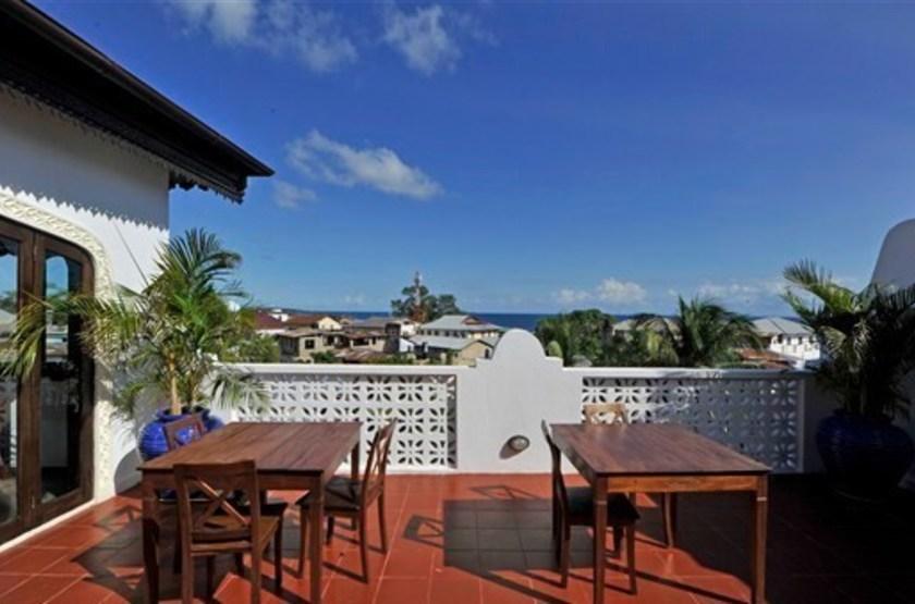 Kisiwa House, Stone Town, Zanzibar, terrasse