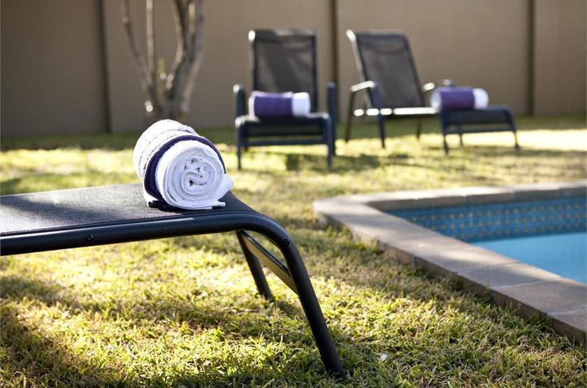 Villa Violet, Windhoek, Namibie, piscine