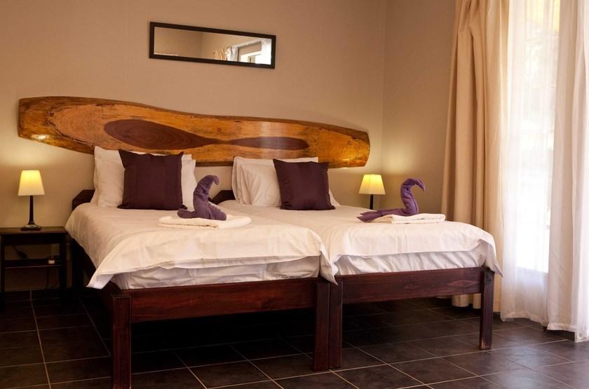 Villa Violet, Windhoek, Namibie, chambre