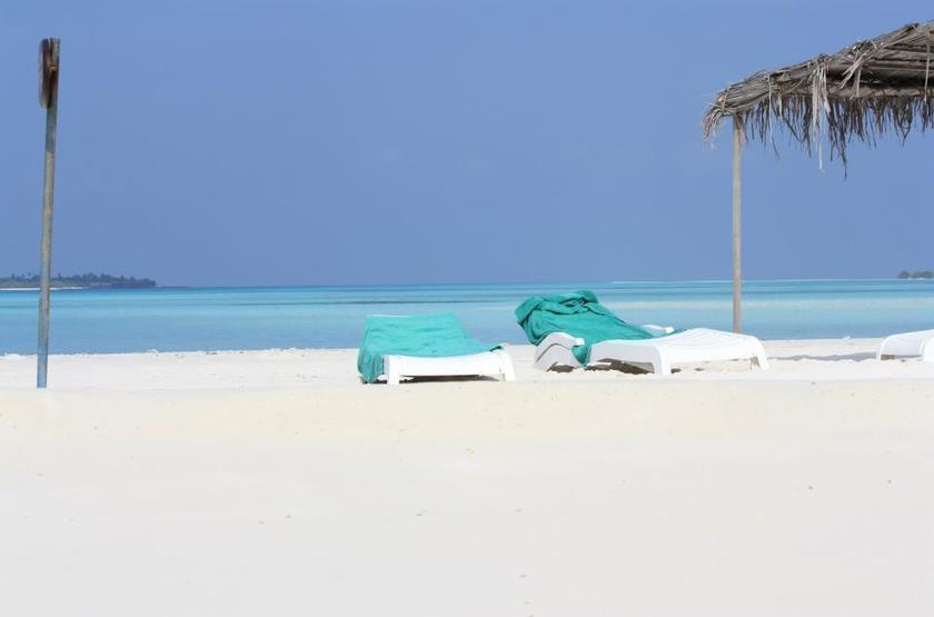 Kuredu Island Resort & Spa, Maldives, plage