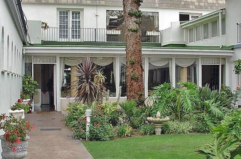 Hansa Hotel Swakopmund, Namibie, cours intérieure
