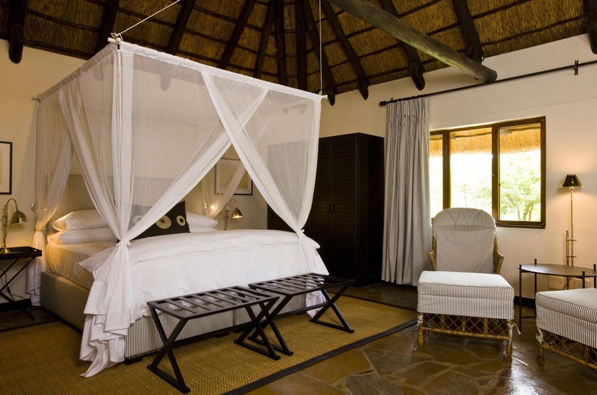 Mushara Lodge, parc d'Etosha, Namibie, chambre