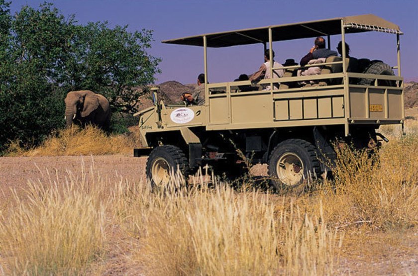 Mowani mountain lodge   namibie damaraland   safari slideshow