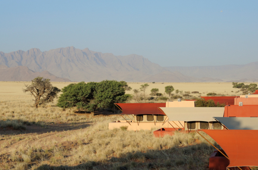 Sossusvlei Lodge, Namibie, emplacement