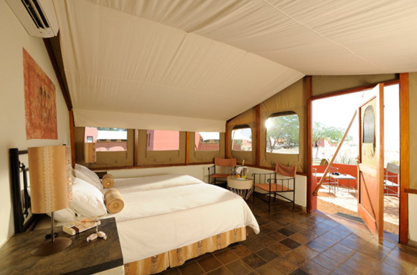 Sossusvlei Lodge, Namibie, chambre