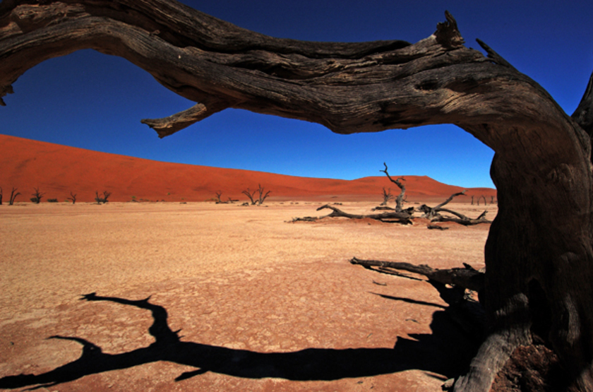 Sossusvlei Lodge, Namibie, paysage