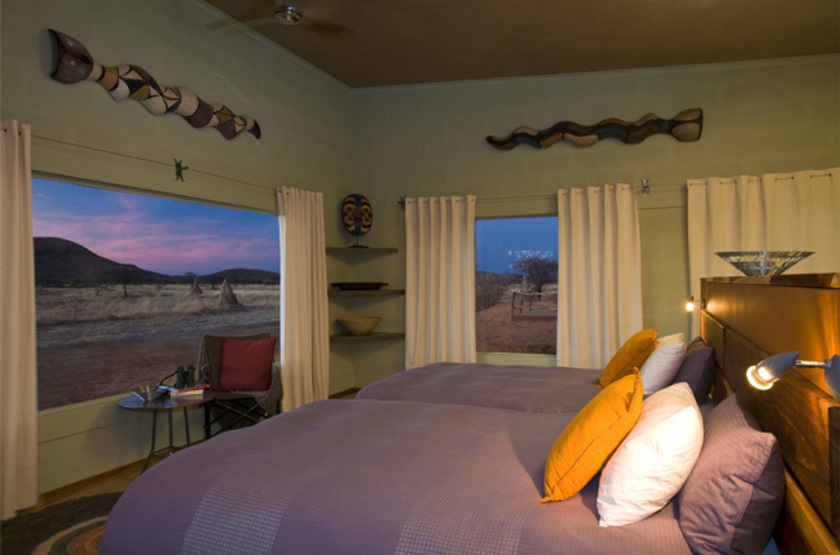 Okonjima main camp   namibia   view room int rieur slideshow
