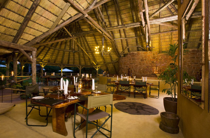Okonjima Plains Camp, Namibie, restaurant