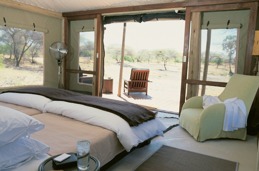 Onguma Tented Camp, Namibie, chambre