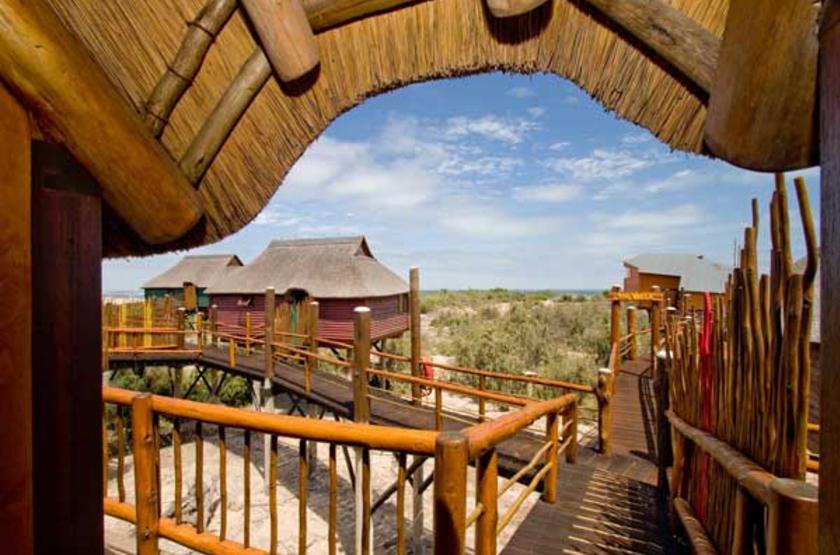 Stiltz Lodge, Swakopmund, Namibie, chalets