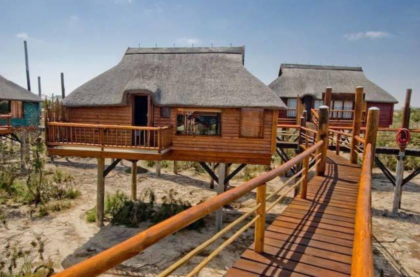 Stiltz Lodge, Swakopmund, Namibie, extérieur