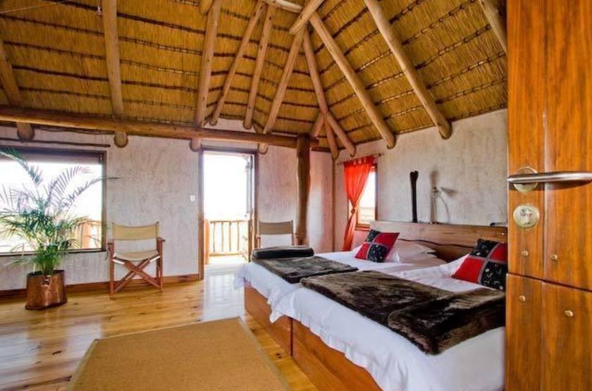 Stiltz Lodge, Swakopmund, Namibie, chambre