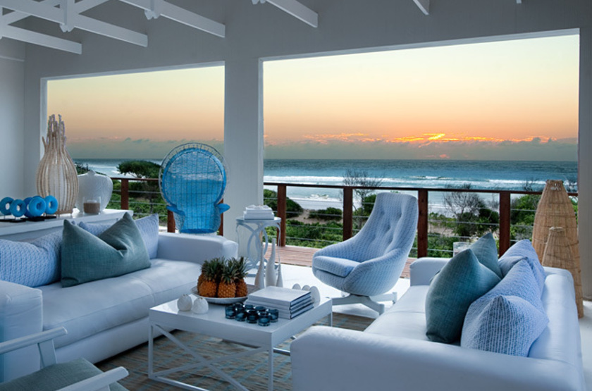White Pearl Resort, Ponta Mamoli, Mozambique, lounge