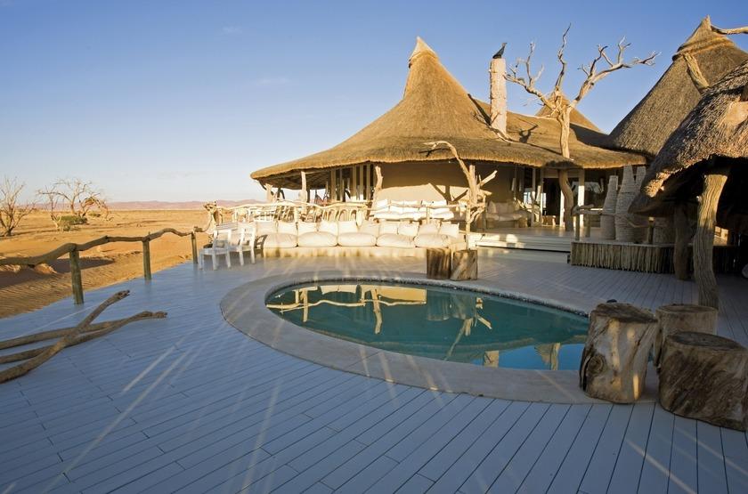 Little Kulala, Sossusvlei, Namibie, piscine