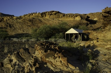 Damaraland adventurer camp vue ext rieure listing