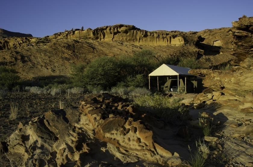 Damaraland adventurer camp vue ext rieure slideshow