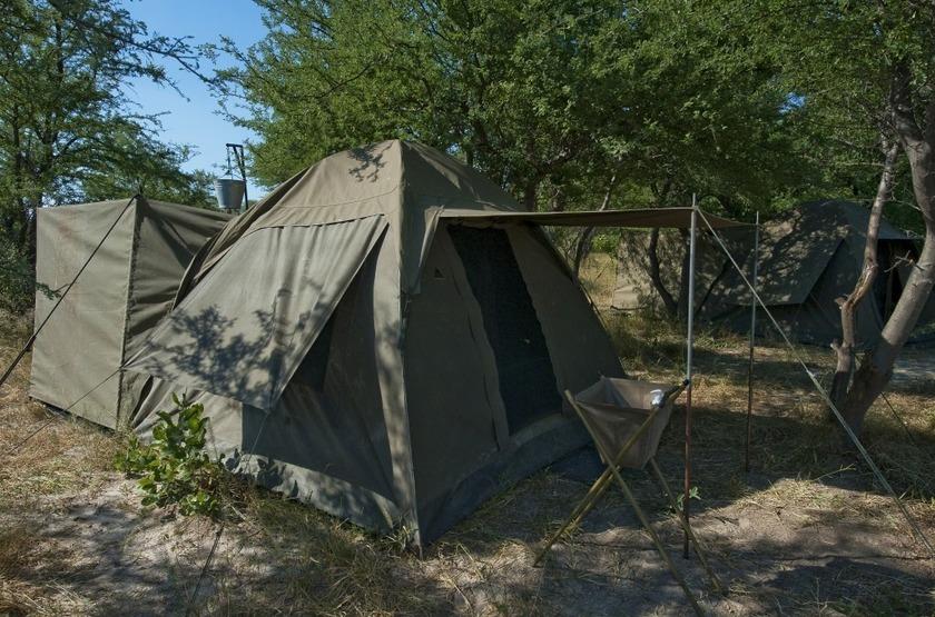Adeventurer camp   vue de la tente slideshow