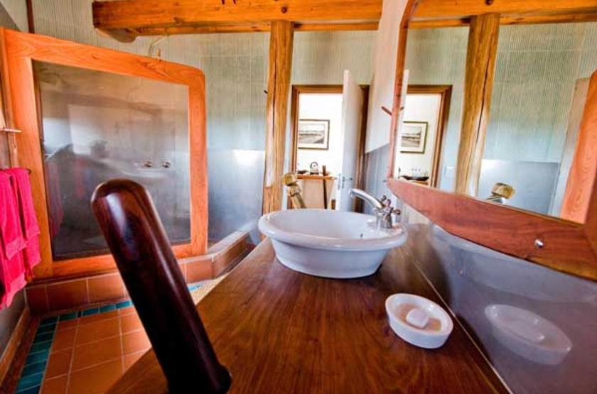 Stiltz Lodge, Swakopmund, Namibie, salle de bains