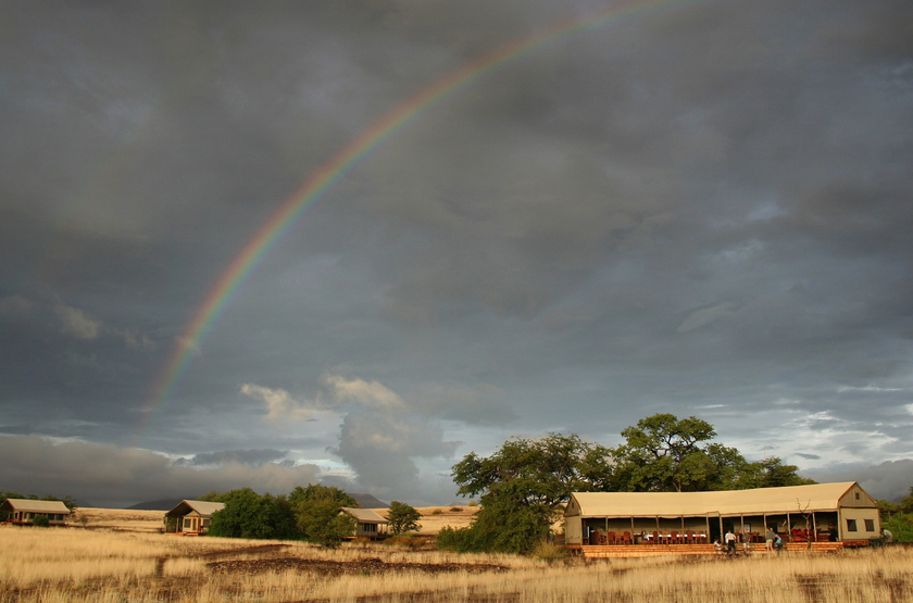 Desert Rhino Camp, Palmwag, Damaraland, Namibie, extérieur