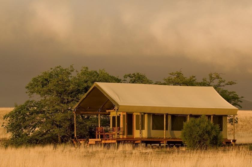 Desert Rhino Camp, Palmwag, Damaraland, Namibie, tente