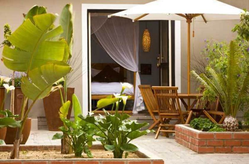 Villa Margherita, Swakopmund, Namibie, terrasse