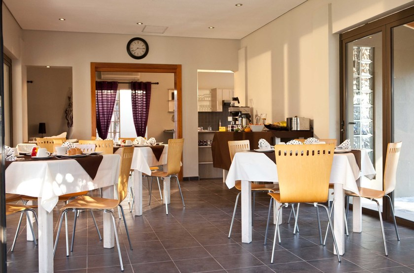 Villa Violet, Windhoek, Namibie, restaurant