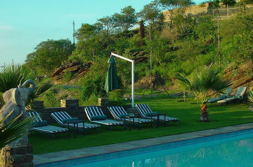 Heinitzburg, Windhoek, Namibie, piscine