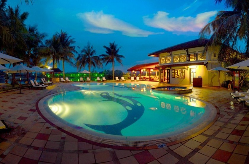 Hoi An Beach Resort, Vietnam, piscine