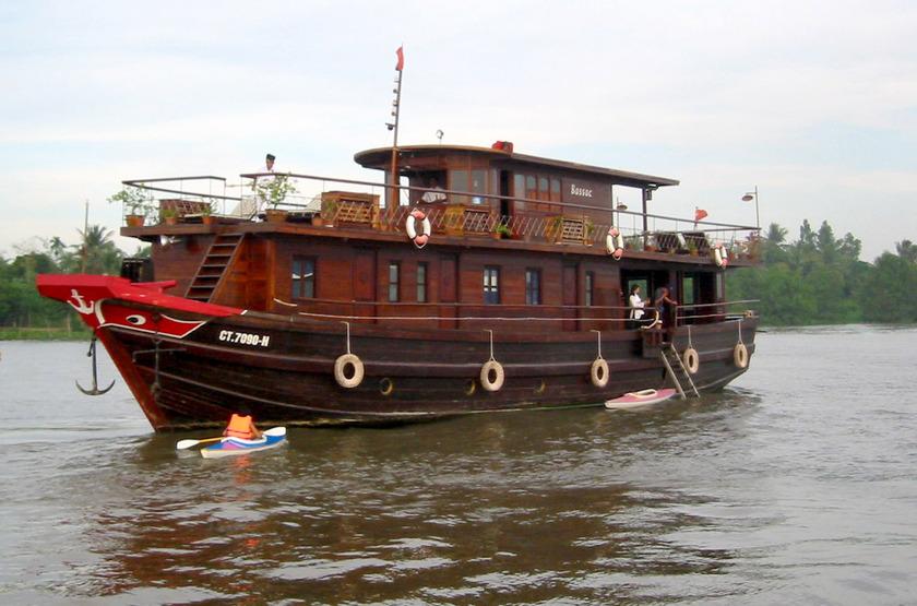 Le Bassac, Croisière sur le Mékong, Vietnam, bateau