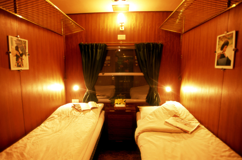 Victoria train   vietnam   deluxe cabin slideshow