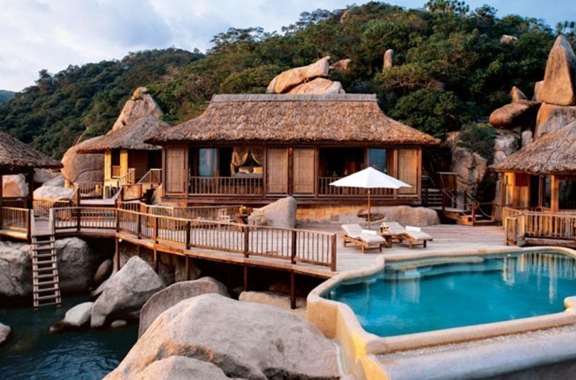 Six senses ninh van bay   vietnam ninh van bay   exterieur bungalow slideshow