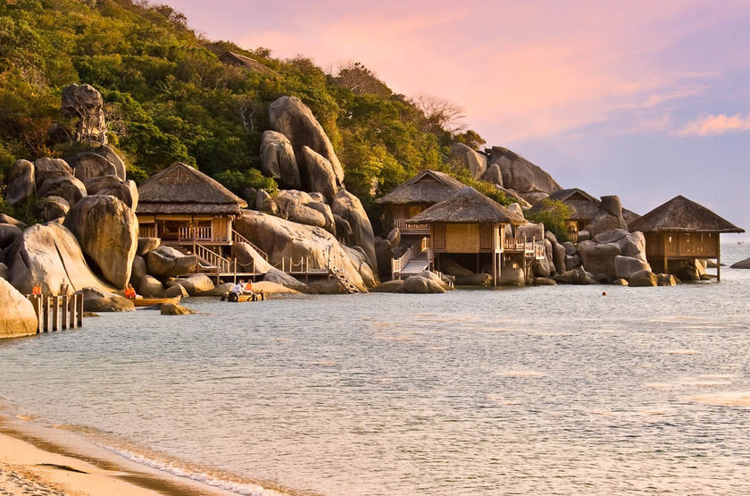 Six senses ninh van bay   vietnam ninh van bay   vue d ensemble slideshow