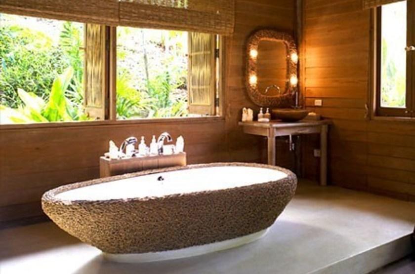 Six Senses Ninh Van Bay, Nha Trang, Vietnam, salle de bains