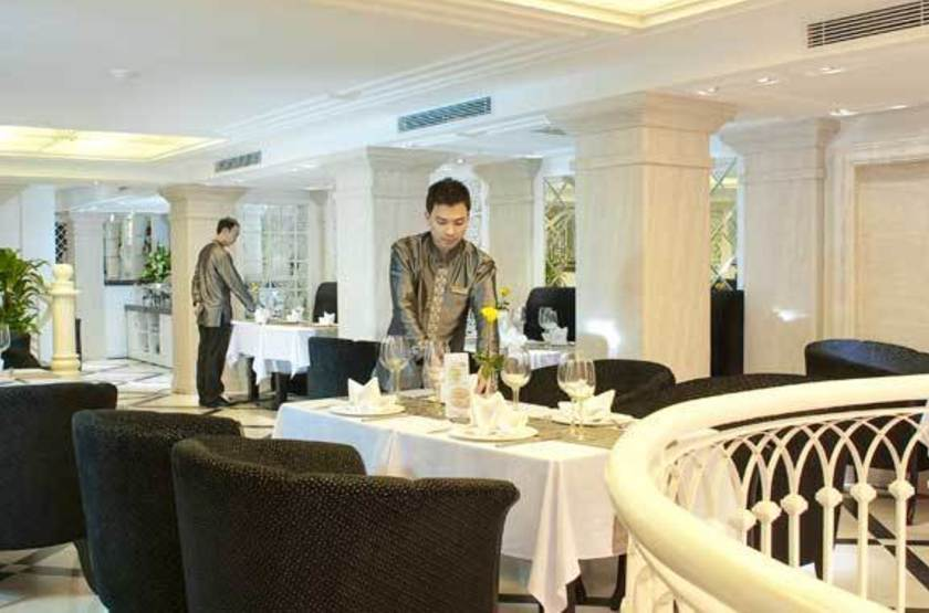Church boutique hotel   vietnam hanoi   restaurant slideshow