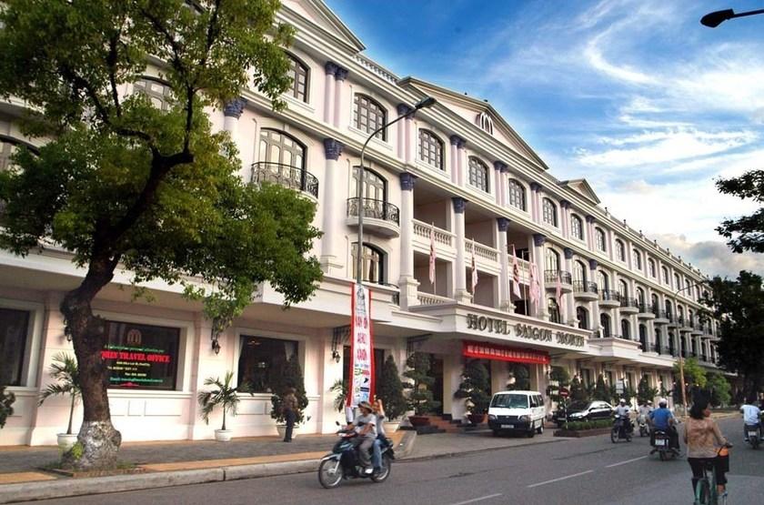 Saigon Morin Hotel, Hué, Vietnam, extérieur