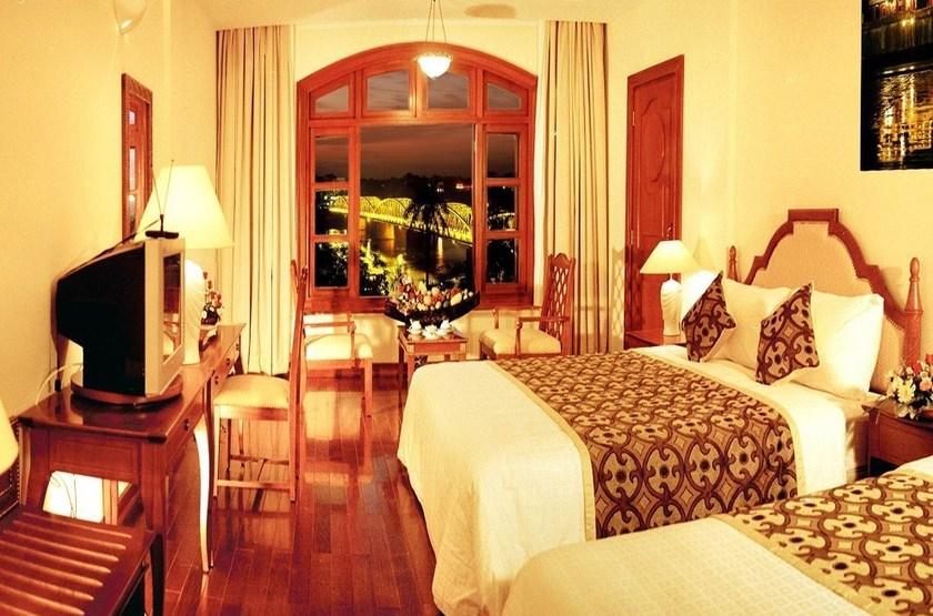 Saigon Morin Hotel, Hué, Vietnam, chambre