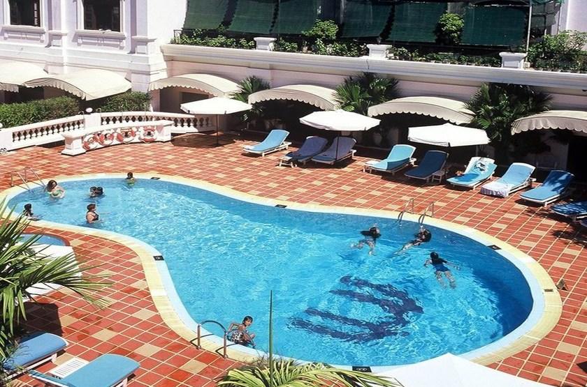 Saigon Morin Hotel, Hué, Vietnam, piscine